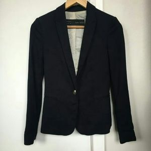 Zara Basic Navy Blazer in XL